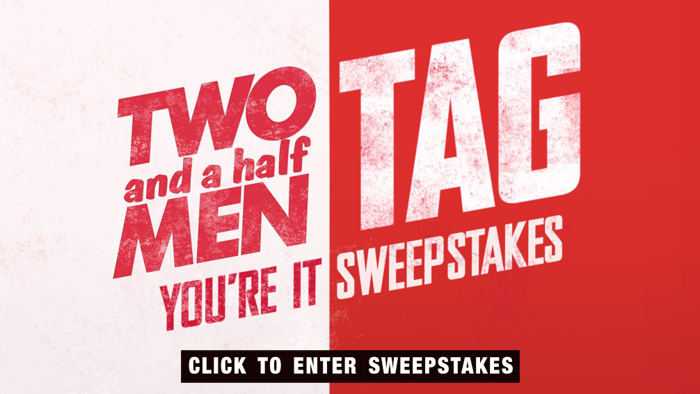 Two And A Half Men TAG Sweepstakes